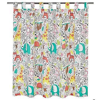 George At ASDA Jungle Fever Curtains