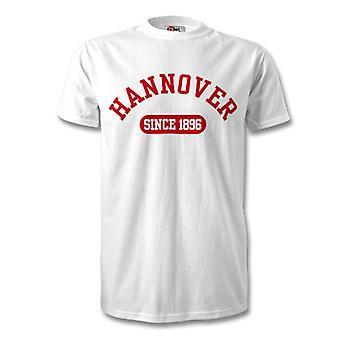 Hannover 96 1896 Established Football T-Shirt