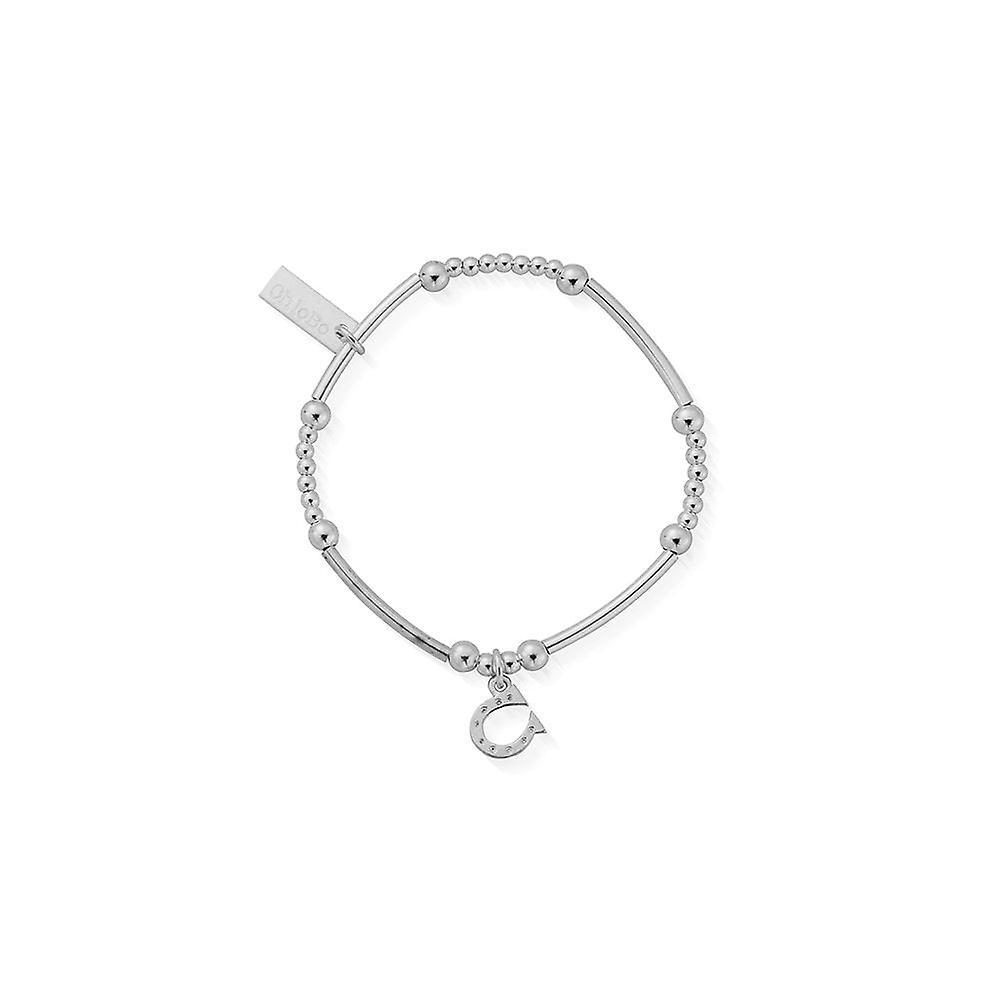 ChloBo Children's Silver Cute Mini Horseshoe Bracelet
