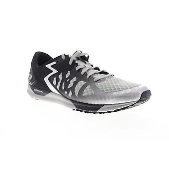 361 Degrees Chaser Mens Silver Gray Mesh Low Top Athletic Cross Training Shoes