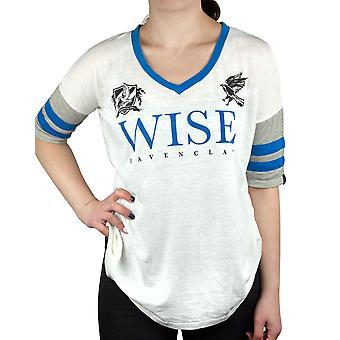 Harry Potter Ravenclaw Wise Naisten/Naisten Varsity T-paita Koot S-XL