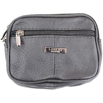 Leather Belt Bag / Purse ( Beige )