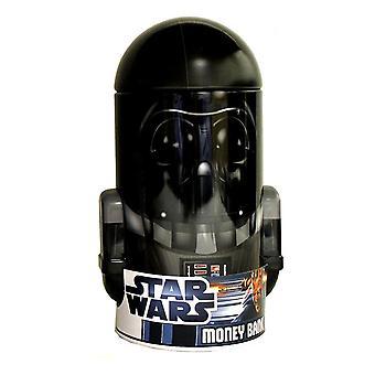 Star wars - darth vader hoofd vorm tin spaarpot