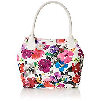 Tom Tailor Acc Miri Riviera - White Women's Tote Bags (Blumen Wei) 43x28x17.5 cm (W x H L)