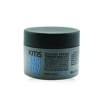 Kms California Hair Stay Molding Pomade (reshapeable Polished Styles With Strong Hold) - 90ml/3oz