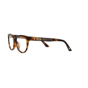 Gucci Asian Fit GG0211OA 002 Havana Glasses
