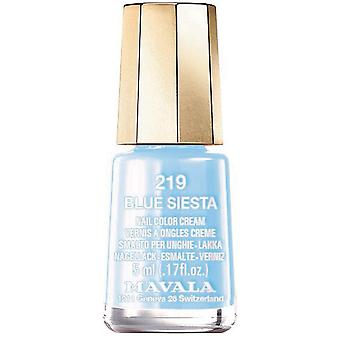 Mavala Chill & Relax 2020 Nail Polish Collection - Blue Siesta (219) 5ml