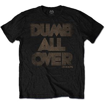 Black Frank Zappa Dumb All Over Official Tee T-Shirt Mens Unisex