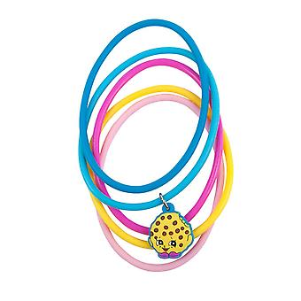 Shopkins Kooky Cookie Jelly Bracelets Set