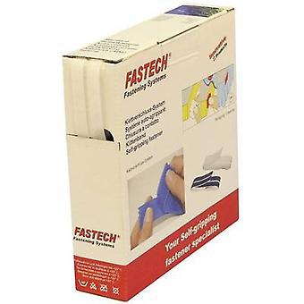 FASTECH® B10-SKL000010 Hook-and-loop tejp stick-on (smältlim) Krok och slinga pad (L x W) 10 m x 10 mm Vit 10 m
