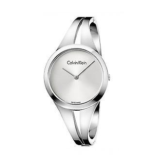 Calvin Klein Original Women All Year Watch - Cinza Cor 38727