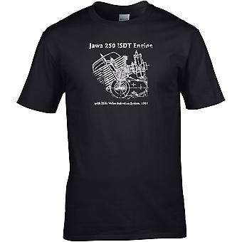 Jawa 250 Motor Classic - Motorsykkel Motorsykkel Biker - DTG Trykt T-skjorte