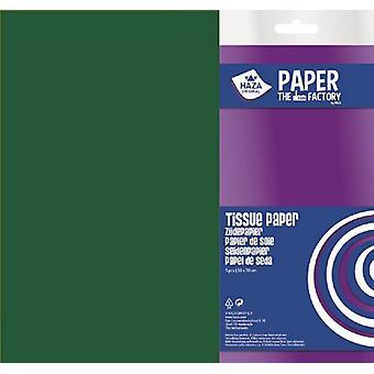 Haza Tissue paper dark green 18gr 5SH 50x70cm 185949
