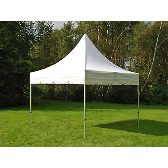 Vouwtent/Easy up tent FleXtents PRO Peak Pagoda 3x3m Wit
