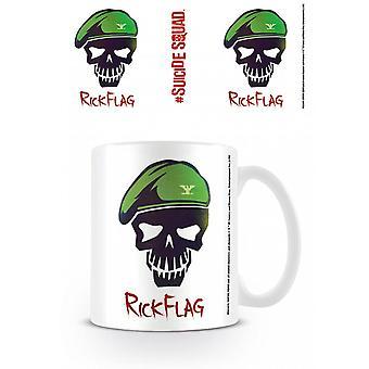 Suicide Squad (Rick Flag Skull) Mug