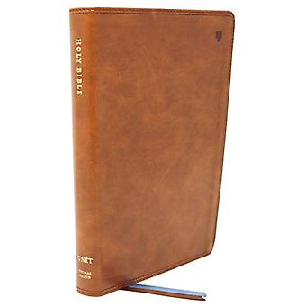 NET Bible - Thinline - Leathersoft - Brown - Thumb  Indexed - Comfort