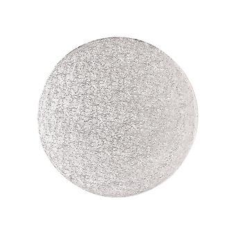 Culpitt 12&; (304mm) Płyta owszem okrągłe karty krawędziowe Silver Fern (3mm grubości) Opakowanie 5