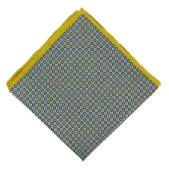 Michelsons of London Spot Geo Handkerchief - Yellow