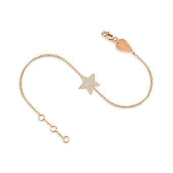 Bracelet Star 18K Gold and Diamonds