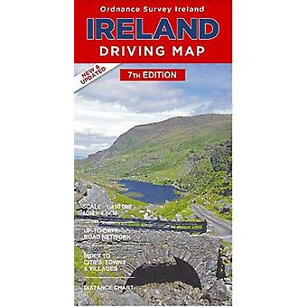 Ireland Driving Map - 9781908852885 Book
