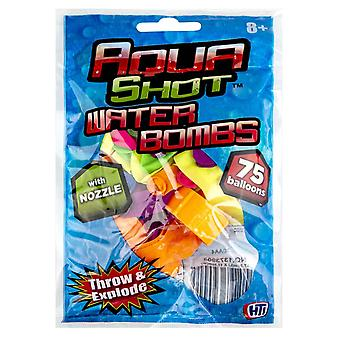 75x Water Balloons - Nozzle Included