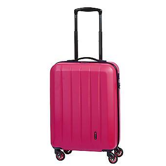 Controleren. IN Cork Handbagage Trolley S, 4 Wielen, 55 cm, 30 L, Roze
