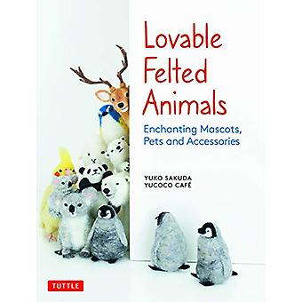 Lovable Felted Animals - Enchanting Mascots - Pets and Accessories by