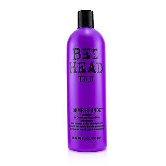 Bed head dumb blonde shampoo (for chemically treated hair) 241137 750ml/25.36oz
