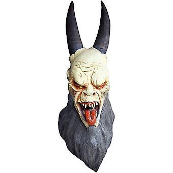 Krampus Latex Mask For Halloween