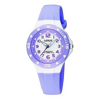 Lorus RRX51CX-9 Child's Lilac Strap Wristwatch