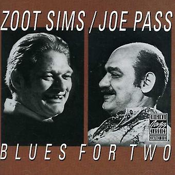 Sims/Pass - Blues for Two [CD] USA import