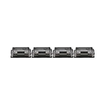 RudyTwos 4x Replacement for HP 64X Toner Unit Black Compatible with Laserjet P4015, P4015N, P4015DN, P4015TN, P4015X, P4515, P4515N, P4515TN, P4515X, P4515XM
