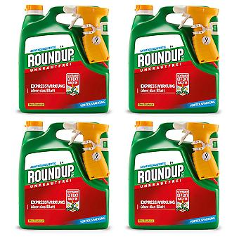 Sparset: 4 x ROUNDUP® AC, 3 litres