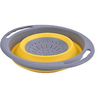 Hi-Gear Folding Colander Yellow