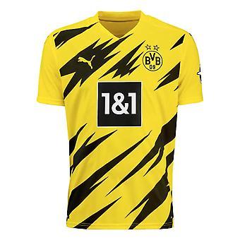 2020-2021 Borussia Dortmund Puma Hjemme fotball skjorte