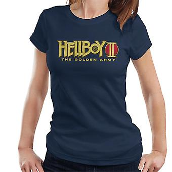 Hellboy II The Golden Army Logo Women's T-Shirt