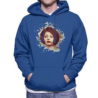 Sophia Loren At The Savoy Shooting Operation Crossbow 1964 Men's Hooded Sweatshirt