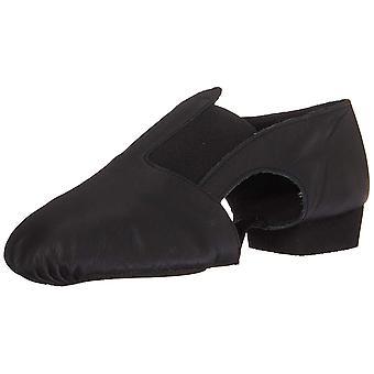 Leo Womens Jazz Sandal Leather Low Top Slip On Ballet & Dance Shoes