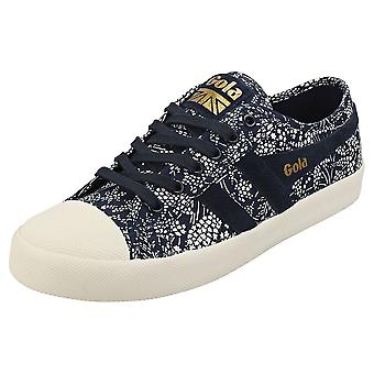 Gola Coaster Liberty Naisten Muoti Trainers Navy White