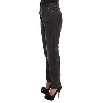Gri Pamuk Blend Erkek Arkadaşı Jeans - SIG3298885