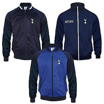 Tottenham Hotspur FC Official Football Gift Mens Retro Track Top Jacket Navy