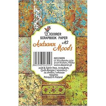 Decorer Automne Moods Paper Pack (7x10.8cm) (M2)
