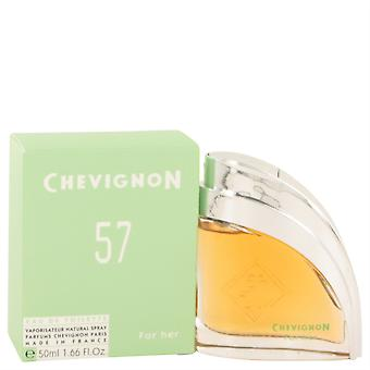 Chevignon 57 Eau De Toilette Spray By Jacques Bogart