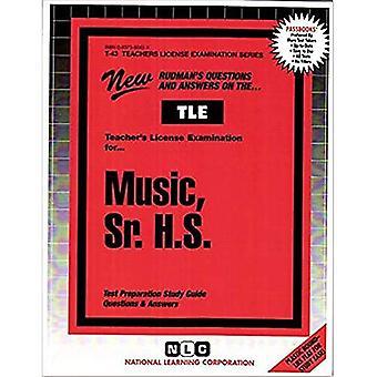 Musique, Sr. H.S.: Guide d'étude des passbooks