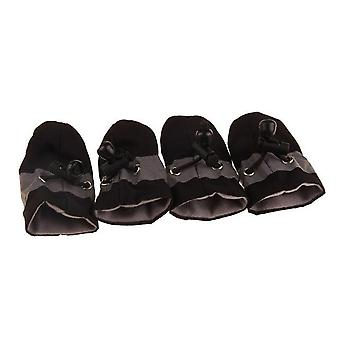 Pet Dogs Winter Shoes Rain Snow Waterproof Booties Socks Rubber Anti-slip Shoes For Small Dog Puppies Footwear Cachorro