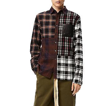 Loewe H526337xa23116 Men's Multicolor Cotton Shirt