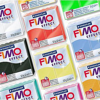 FIMO EFFECT 57G MODELLERING CLAY - KIES UIT 30 VERSCHILLENDE SOORTEN