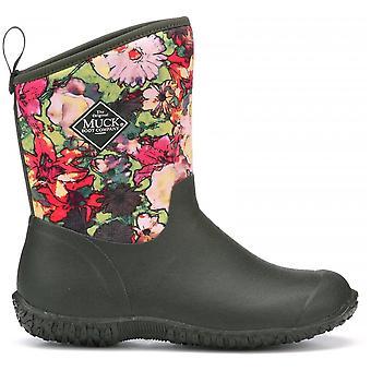Muck Boots Moss Floral Print Muckster Ii Slip On Short Boot