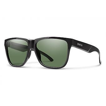 Sonnenbrille Unisex Lowdown XL 2  polarisiert schwarz/graugrün