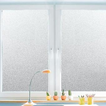 Pvc Frosted Window Film, Waterproof Glass Sticker - Home Bedroom, Bathroom,